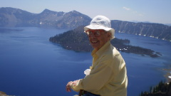 trip to crater lake with Nana 90