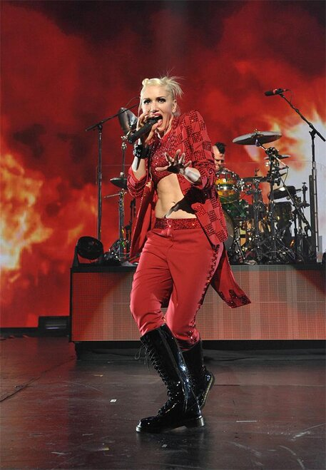 No Doubt in Concert at Gibson Amphitheatre - Night One
