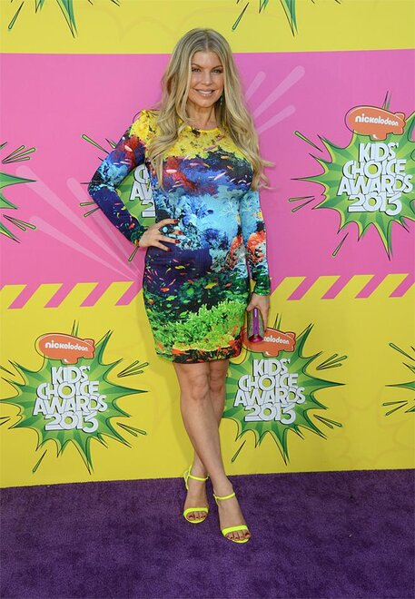 2013 Nickelodeons Kids Choice Awards - Arrivals