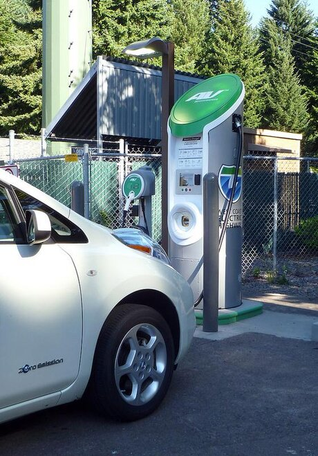 Oregon electric cars