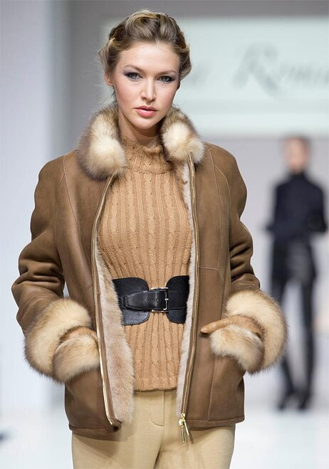 Moscow Fashion Week Liza Romanyuk
