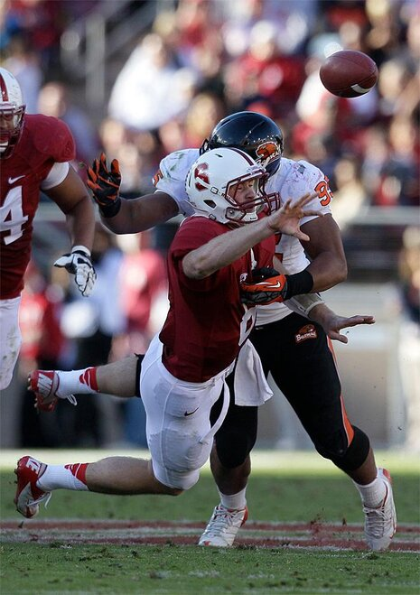APTOPIX Oregon State Stanford Football