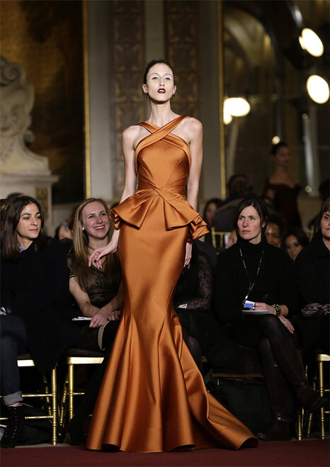 Fashion Zac Posen Fall 2013