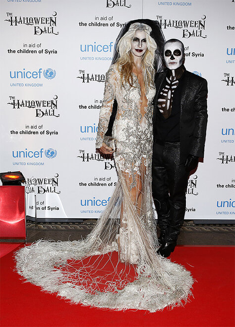 Britain UNICEF Halloween Ball