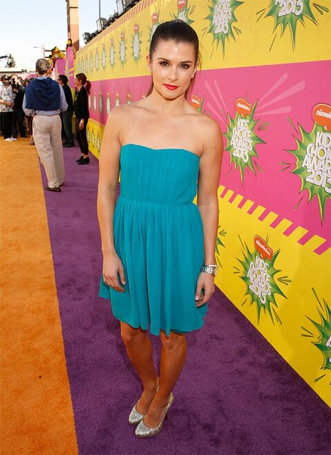 2013 Nickelodeons Kids Choice Awards - Red Carpet