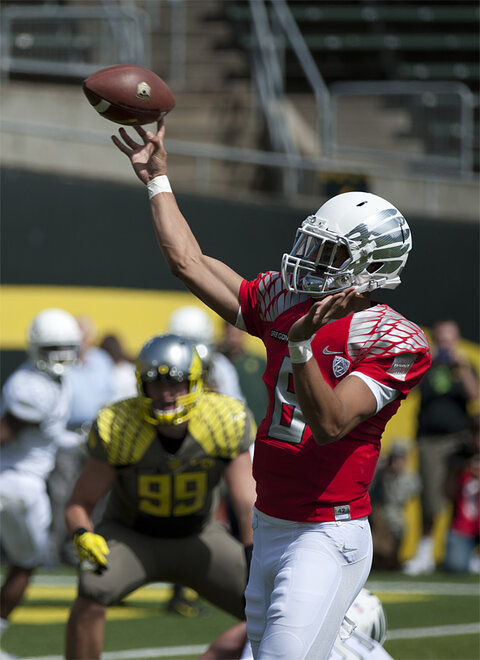 Oregon Spring Game 2013_Photo by Tristan Fortsch - KVAL News 15