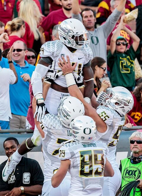 Oregon USC Football