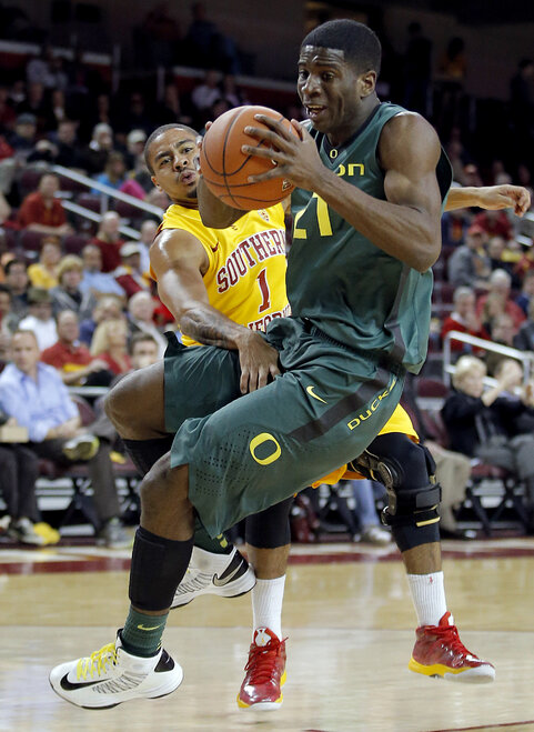 Oregon USC Basketball