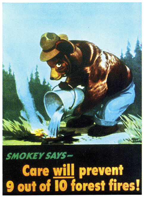 Smokey Bear Turns 70