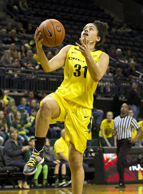 Oregon women beat Arizona State 98-90 at Matt Knight Arena - 50
