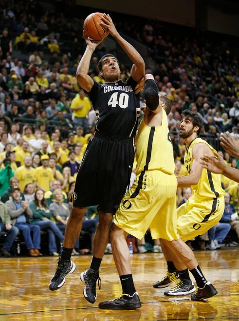 Colorado Oregon Basketball