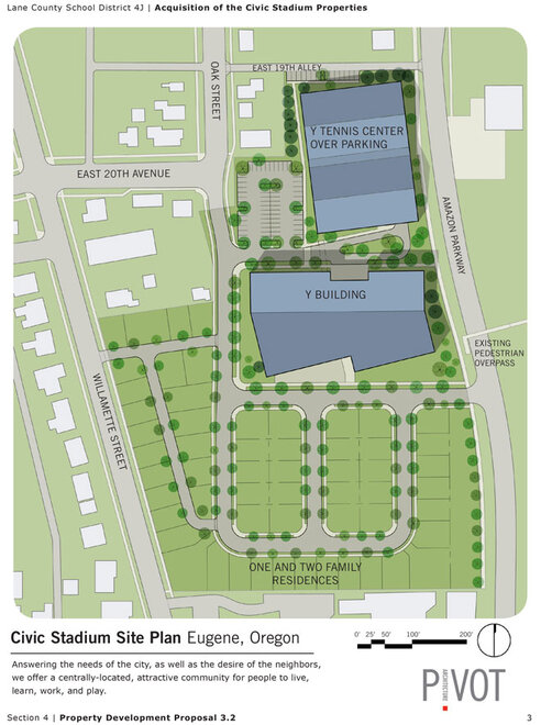 YMCA proposed site plan