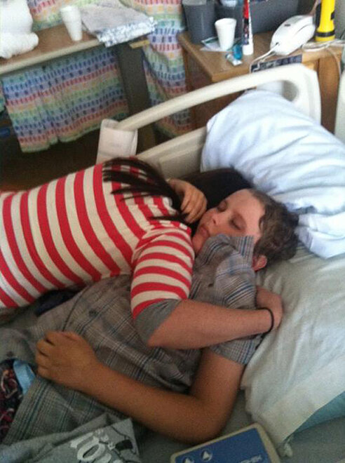 James Dahl recovering from radical brain surgery (10)