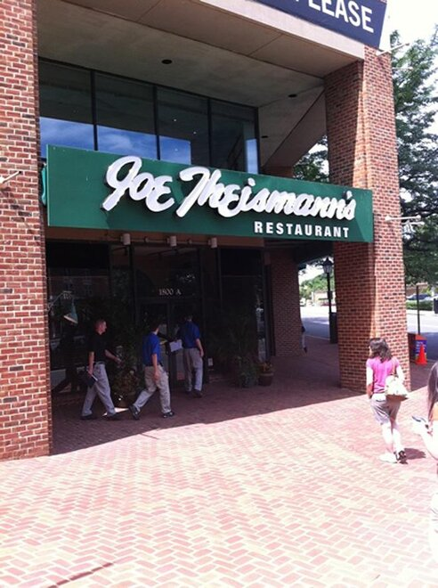 Joe Theismann's Restaurant in Alexandria, Virginia