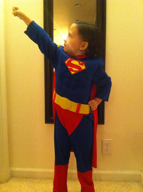 McKenzie Bennett photo of Taylor as Superman