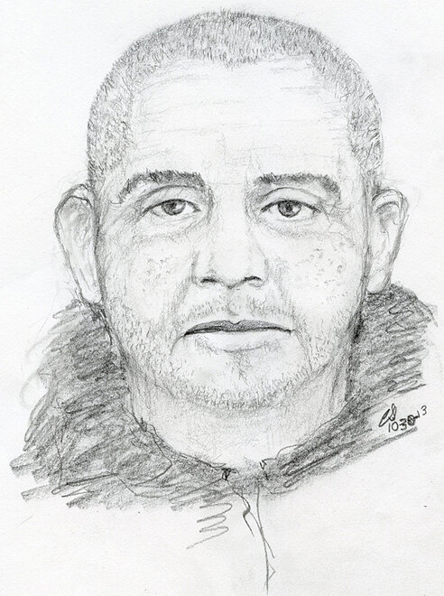 Sketch of Winchester suspect