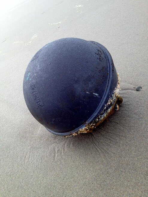 Float found near South Jetty Beach by Rich Colton of Florence (2)