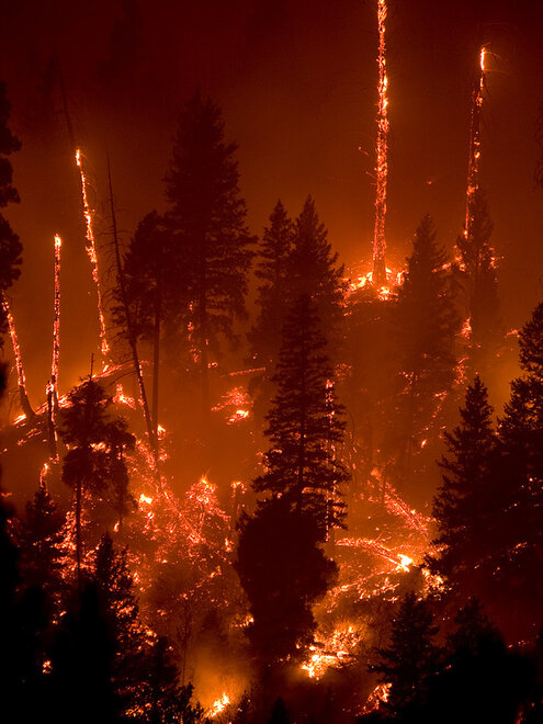 Idaho Wildfires 2012