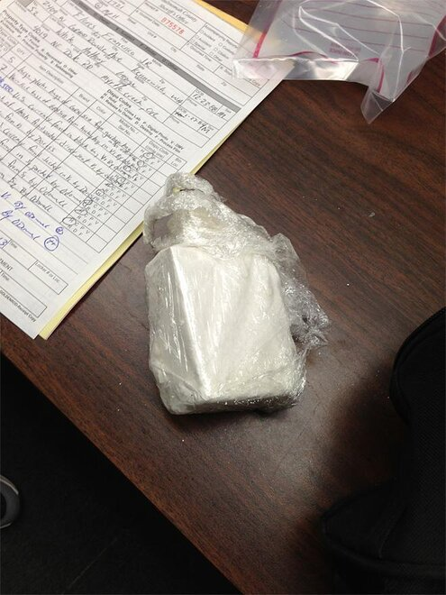 Cocaine seized