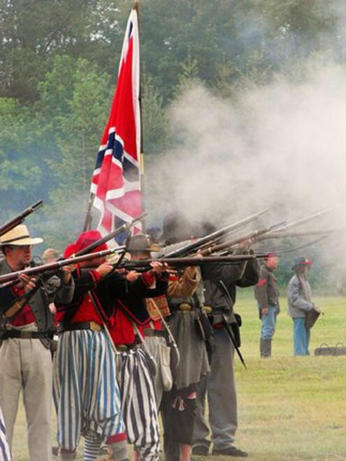 Confederate Soldiers  - Photo send in by YouNews user Photo Mike