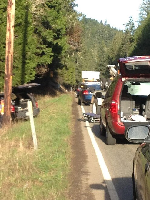 Fatal crash East of Glide 5