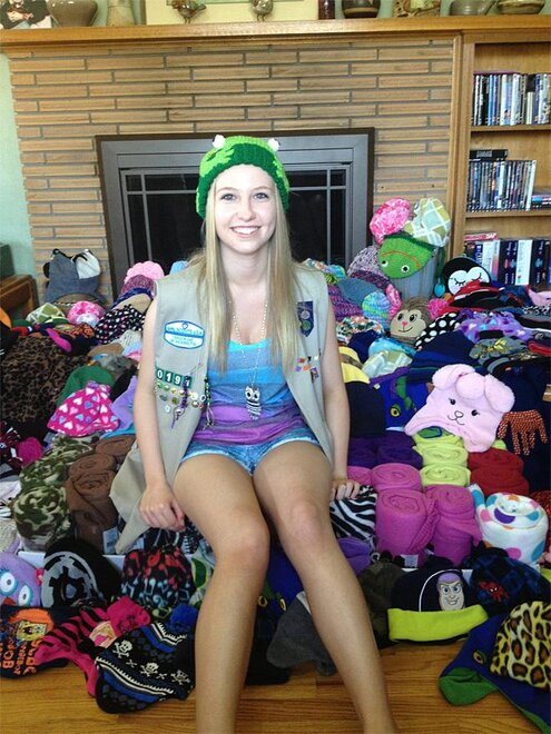 Mikal Dewar Hats for Smiles project (2)