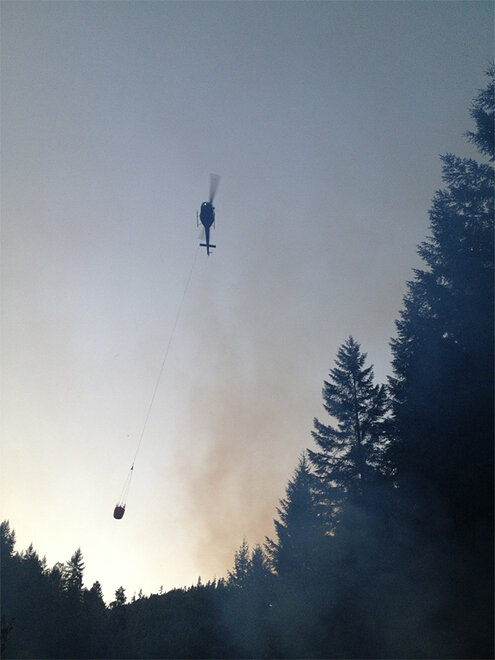 West Fork fire photos from DFPA (2)