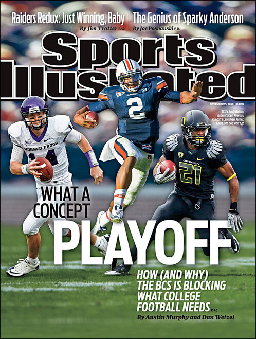 LaMichael James on cover of Sports Illustrated