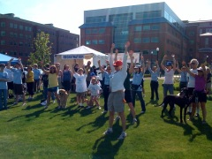 Tai-Chi at the Arthritis Walk