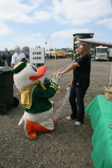 Ducks tailgate wedding
