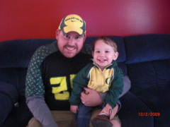 Eugene's smallest little duck fan