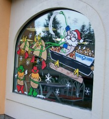 2nd Annual Window Decorating Contest