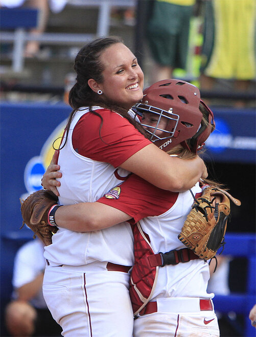 NCAA Alabama Oregon Softball