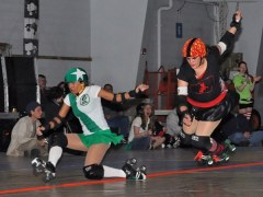 Evil Vs Good Roller Derby Bout  #5
