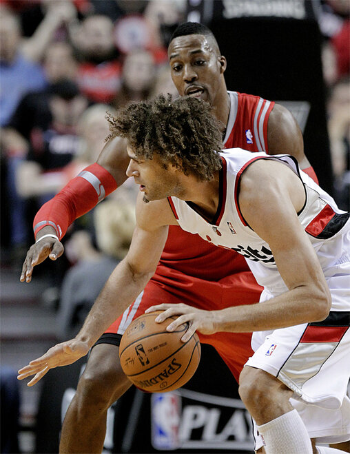 Rockets Trail Blazers Basketball