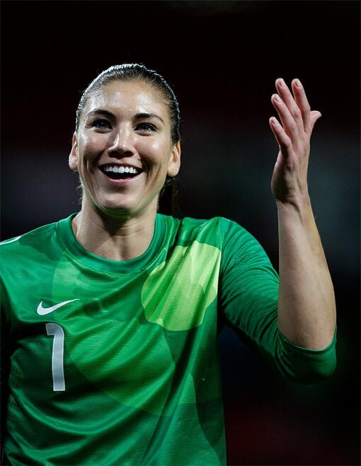 FILE Photo: Hope Solo