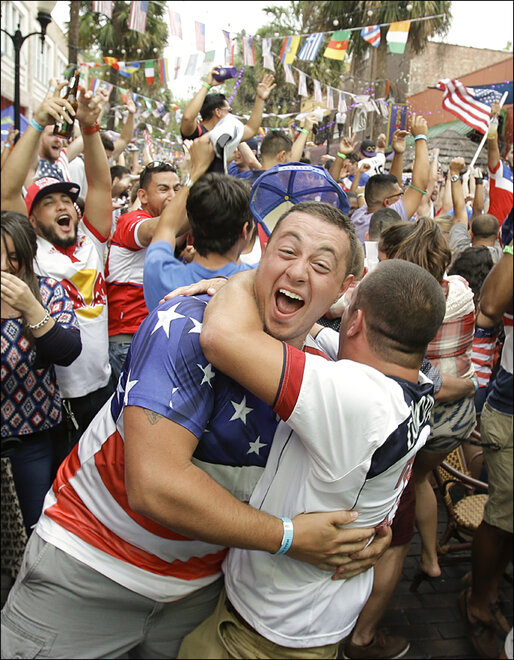Brazil WCup US Soccer Reaction