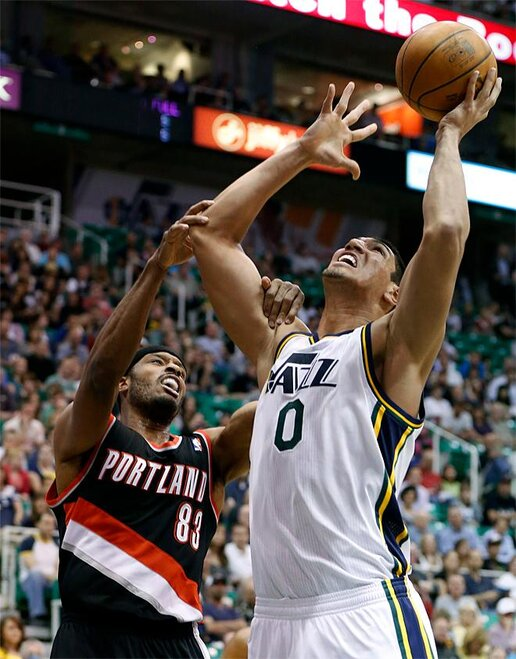 Trail Blazers Jazz Basketball