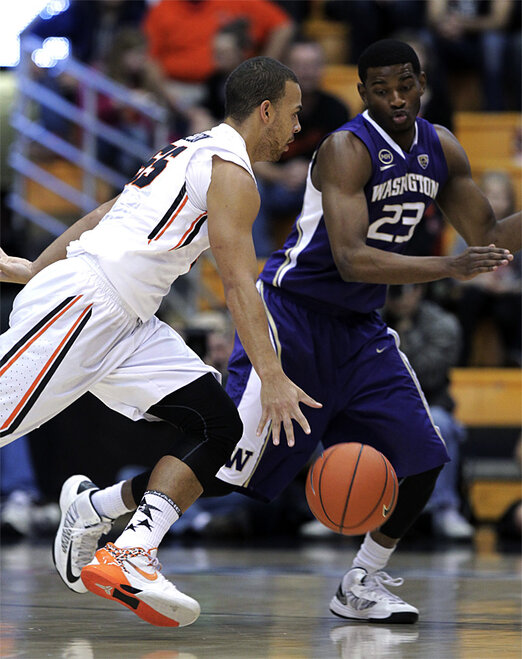 Washington Oregon St Basketball