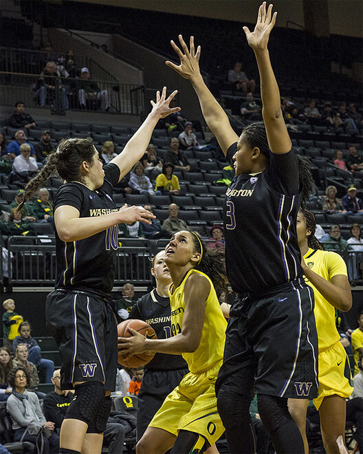 Ducks women beat Washington Huskies 101-85 _ 49