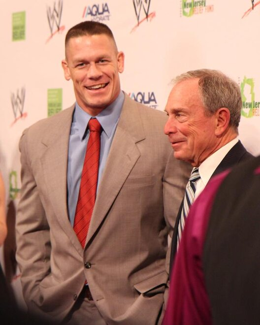 John Cena and Bloomberg
