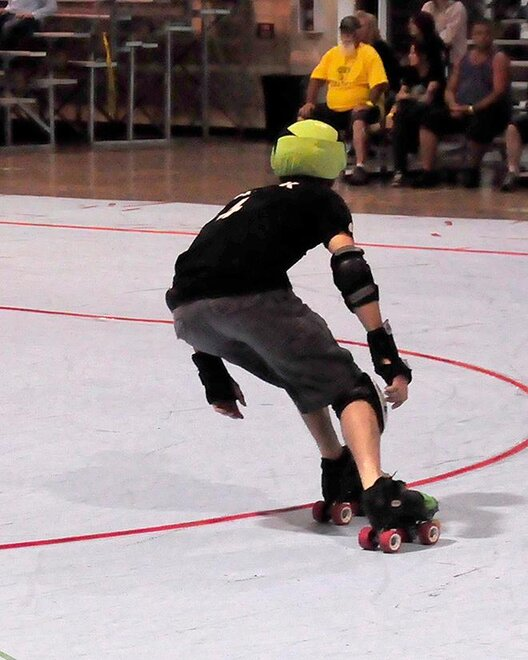 The Lane County Concussion and Emerald City Roller Girls host The Big O -06- Photo by Noah Gurevich_Oregon NewsLab