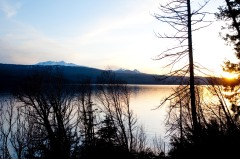 Odell Lake at Sunset