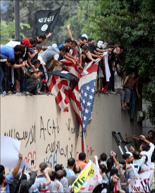 Anti-US Unrest in Egypt