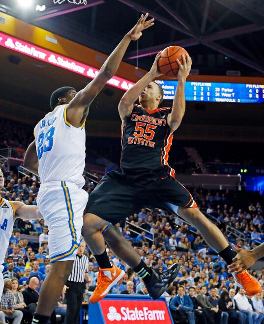 Oregon St UCLA Basketball