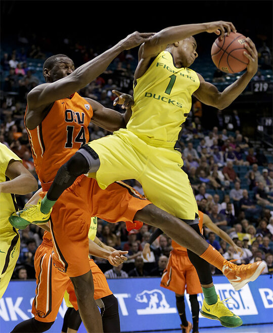 P12 Oregon St Oregon Basketball