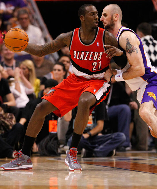 TrailBlazers Suns Basketball