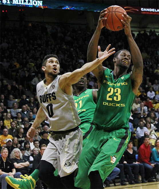 Oregon Colorado Basketball