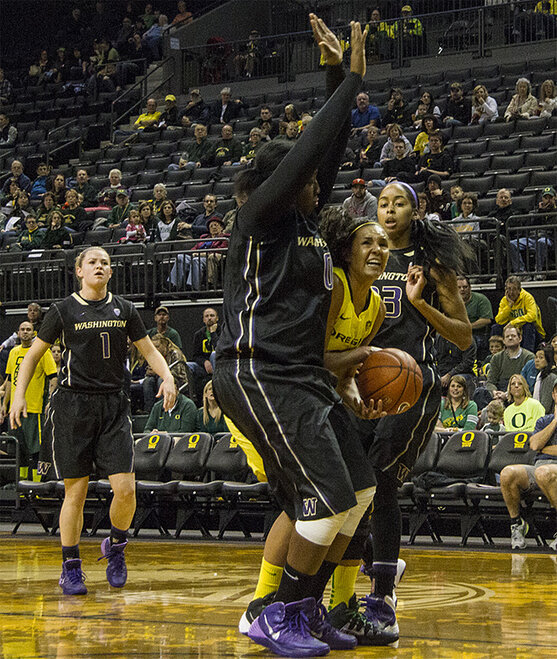 Ducks women beat Washington Huskies 101-85 _ 07