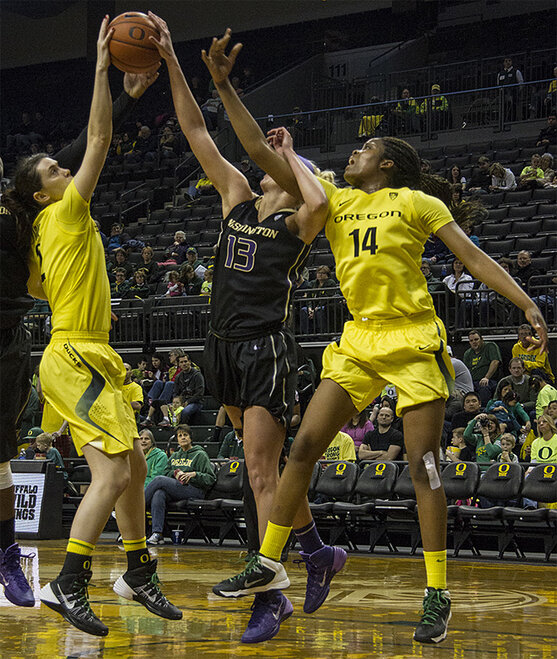 Ducks women beat Washington Huskies 101-85 _ 11